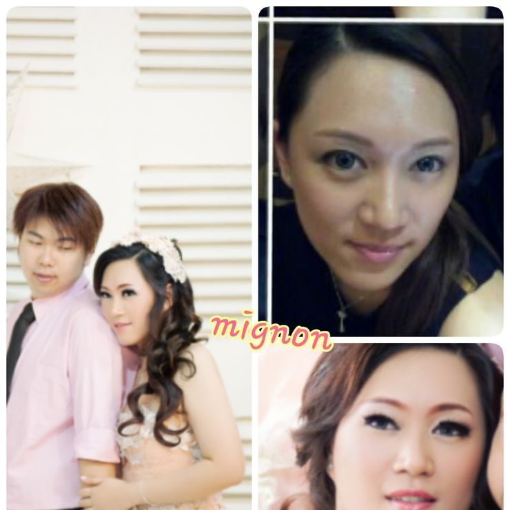 makeup&hair do for venina prewedding