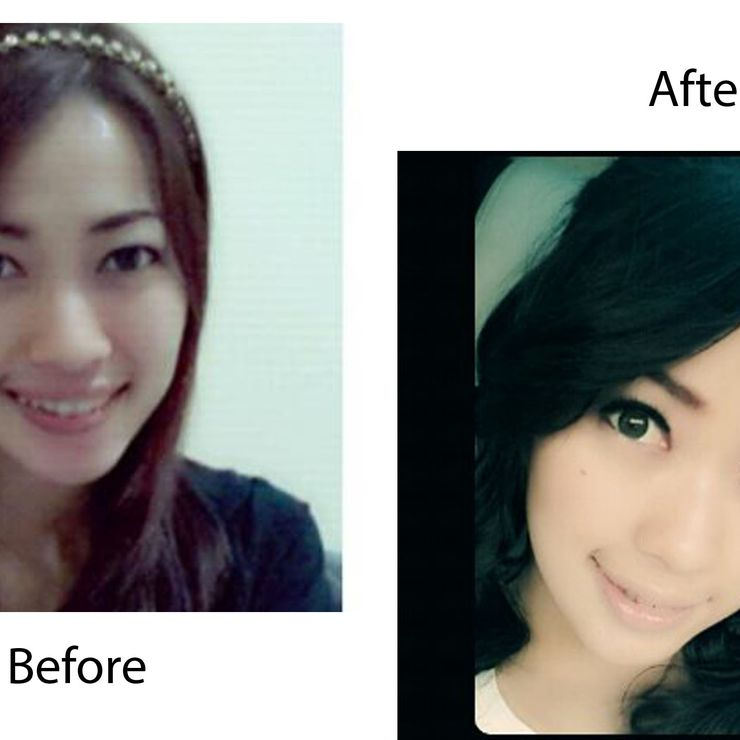 prewedding makeup for amel