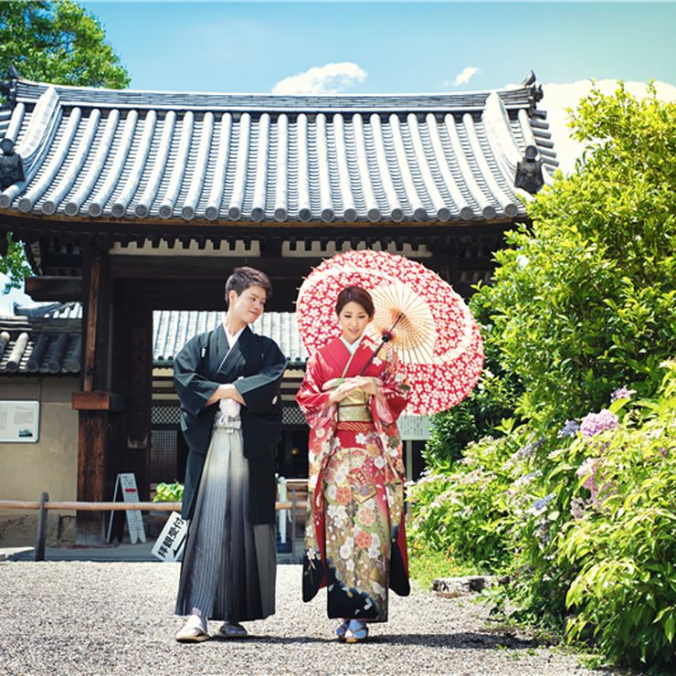 Abe Couple Nara Pre Wedding Photos
