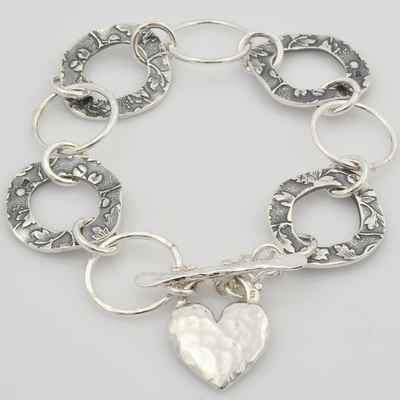Grey bracelets, earrings, necklaces & other jewellery