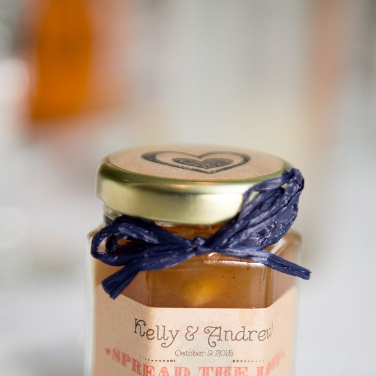Sweet Love Jam Favors