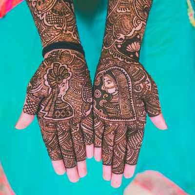Wedding nail design