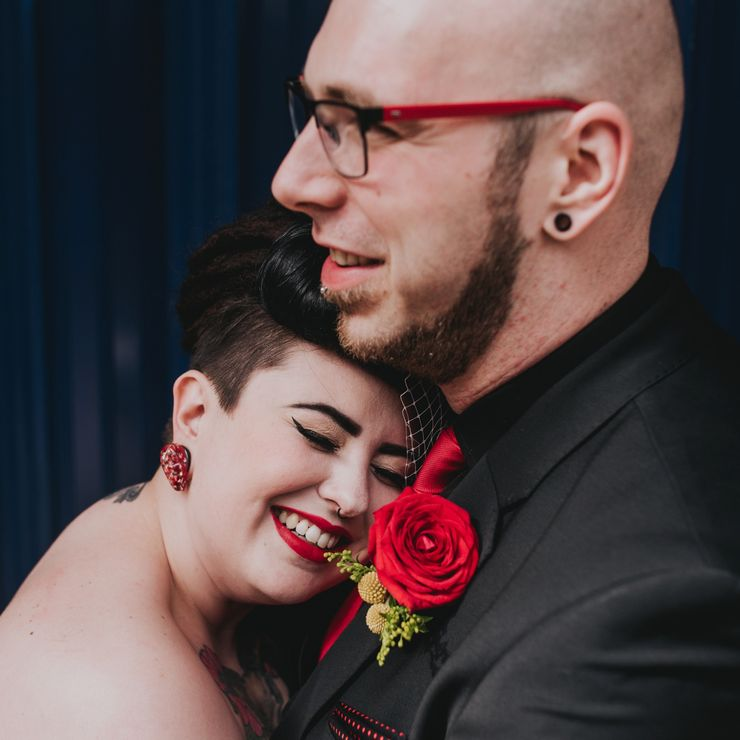 Emma and Gary / A Tarantino themed Manchester Wedding