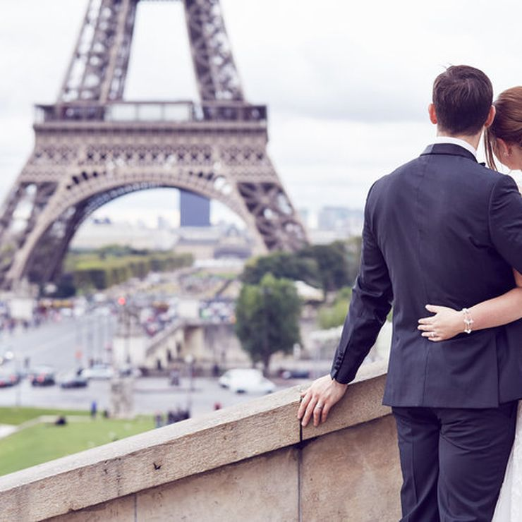 My own destination Wedding in Paris