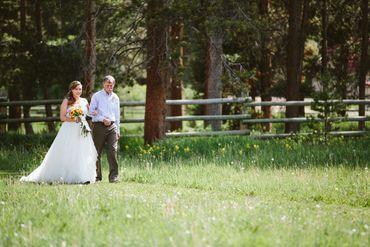 Rustic long wedding dresses