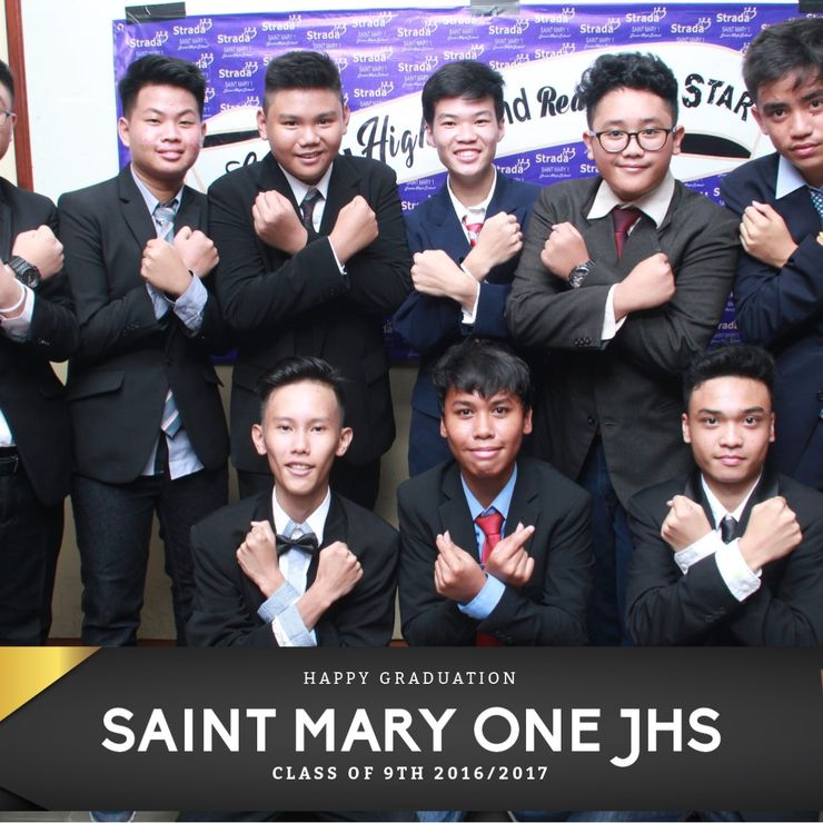GRADUATION SAINT MARY ONE JHS
