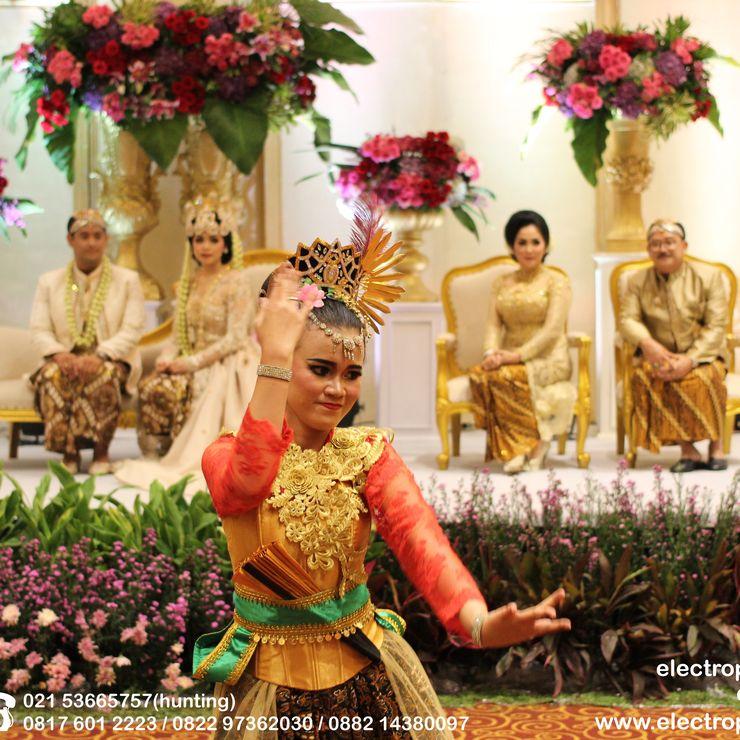 Wedding Ardina & Refky. Sasana Kriya TMII