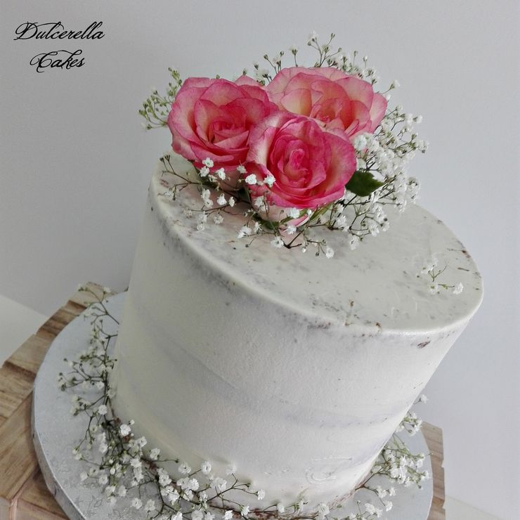 1 Tier Wedding Cake