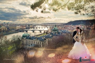 Overseas autumn real weddings